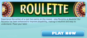 Play Free Roulette HD Moobile game