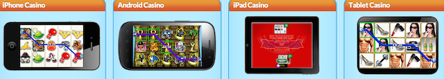 Winneroo Games Free iPad vagy Android App Casino