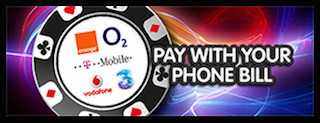 mFortune Roulette Pay per telefoon Bill