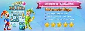 Slingo Riches Spin Genie Free Spins No Deposit