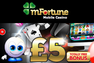 mobile phone slots casino free