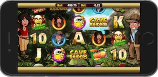 Cave Raiders HD Slots Free Bonus