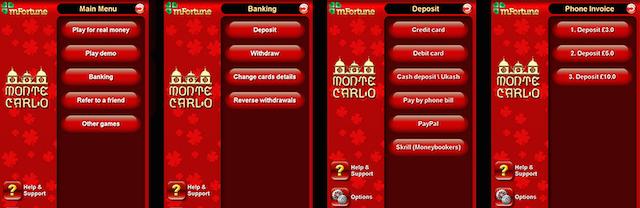 mFortune Mobile Casino Deposit by Phone Bill