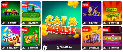 free slots bonus games UK