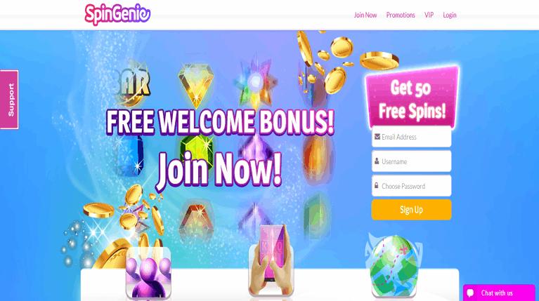 Spin_Genie_Online_Slots_50_Free_Spins_No_Deposit