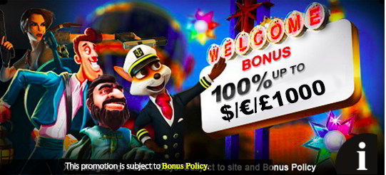 Goldman Casino free welcome bonus