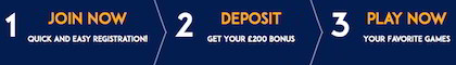 £5 free bonus on first deposit