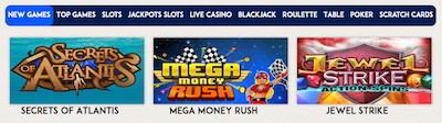 mail casino deposit bonus