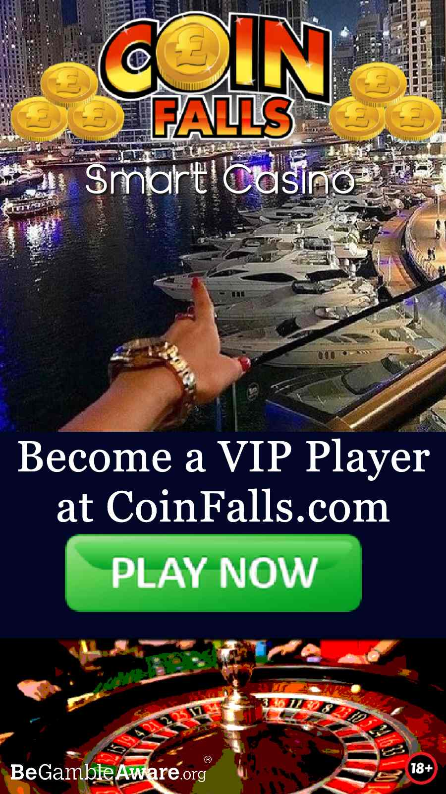 coinfalls casino online